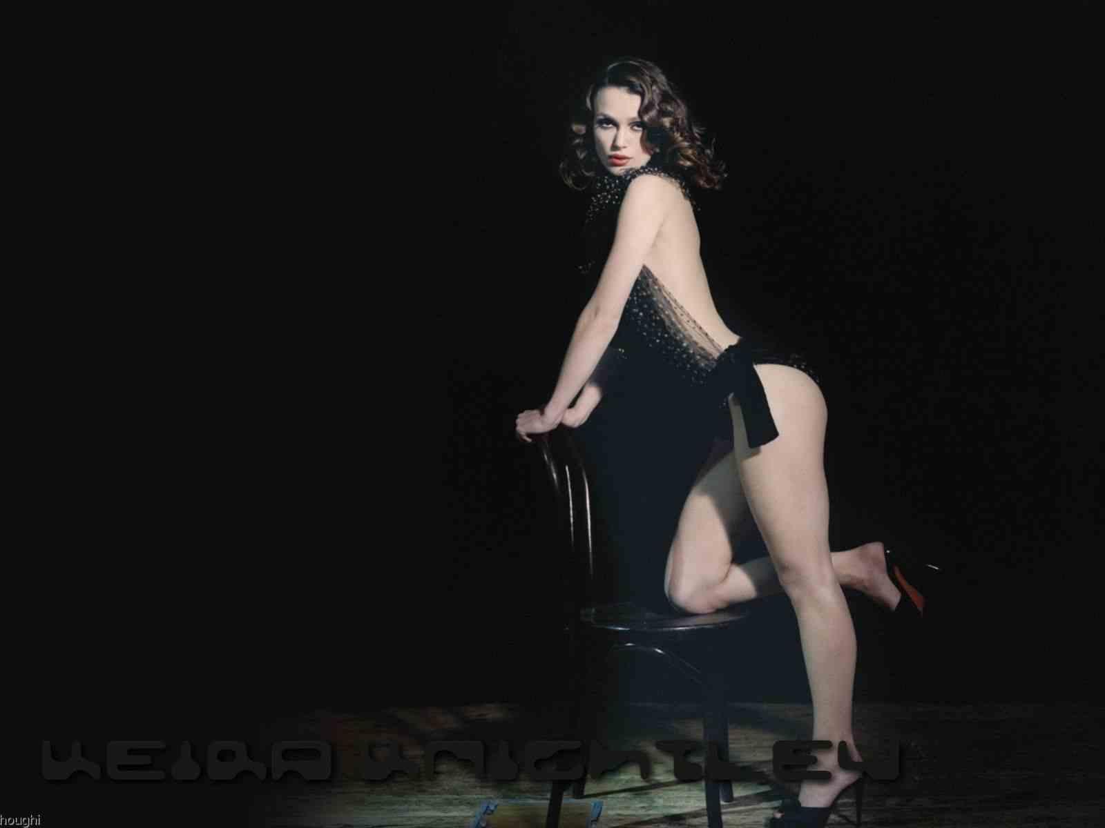 Sliding her panties off