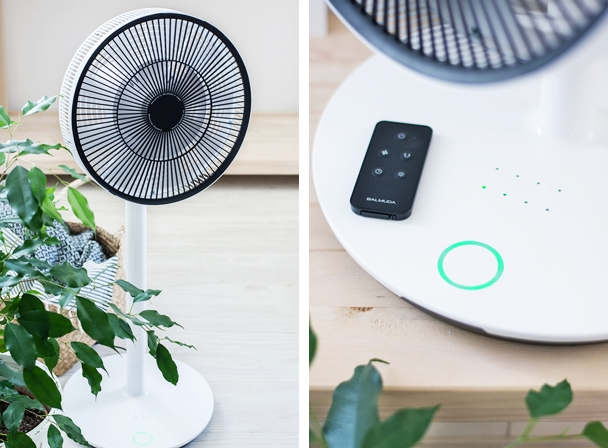 balmuda green fan ventilator