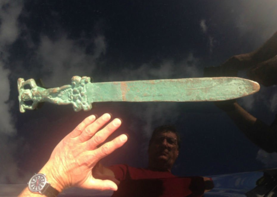 "Surely Columbus Didn't ""Discover"" America.. Roman Sword Found on Oak Island May Rewrite History"