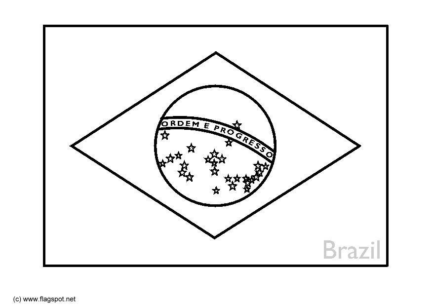 Bandiera inglese da colorare - Drapeau argentine coloriage ...