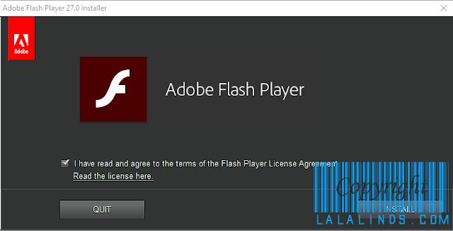 Download Adobe Flash Player 27.0.0.183 Offline Installer Terbaru