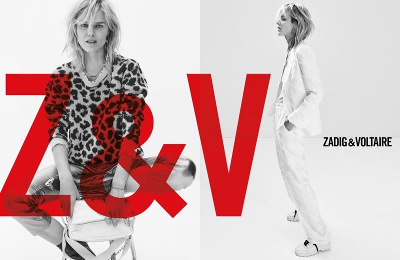 Eva Herizgova stars in Zadig & Voltaire spring-summer 2019 campaign