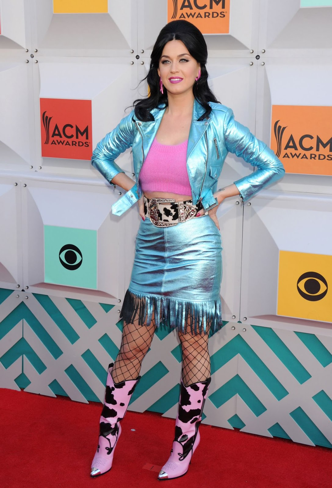 Katy Perry goes country chic for the ACM Awards 2016 in Las Vegas