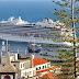 Viking Sky estreou discretamente na Madeira