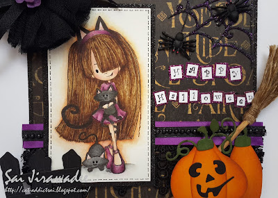 Tiddly Inks Halloween Cat Fever