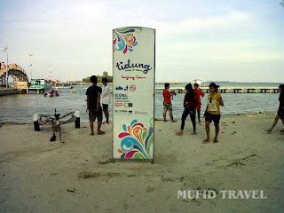 Pantai Tanjungan Timur Pulau Tidung