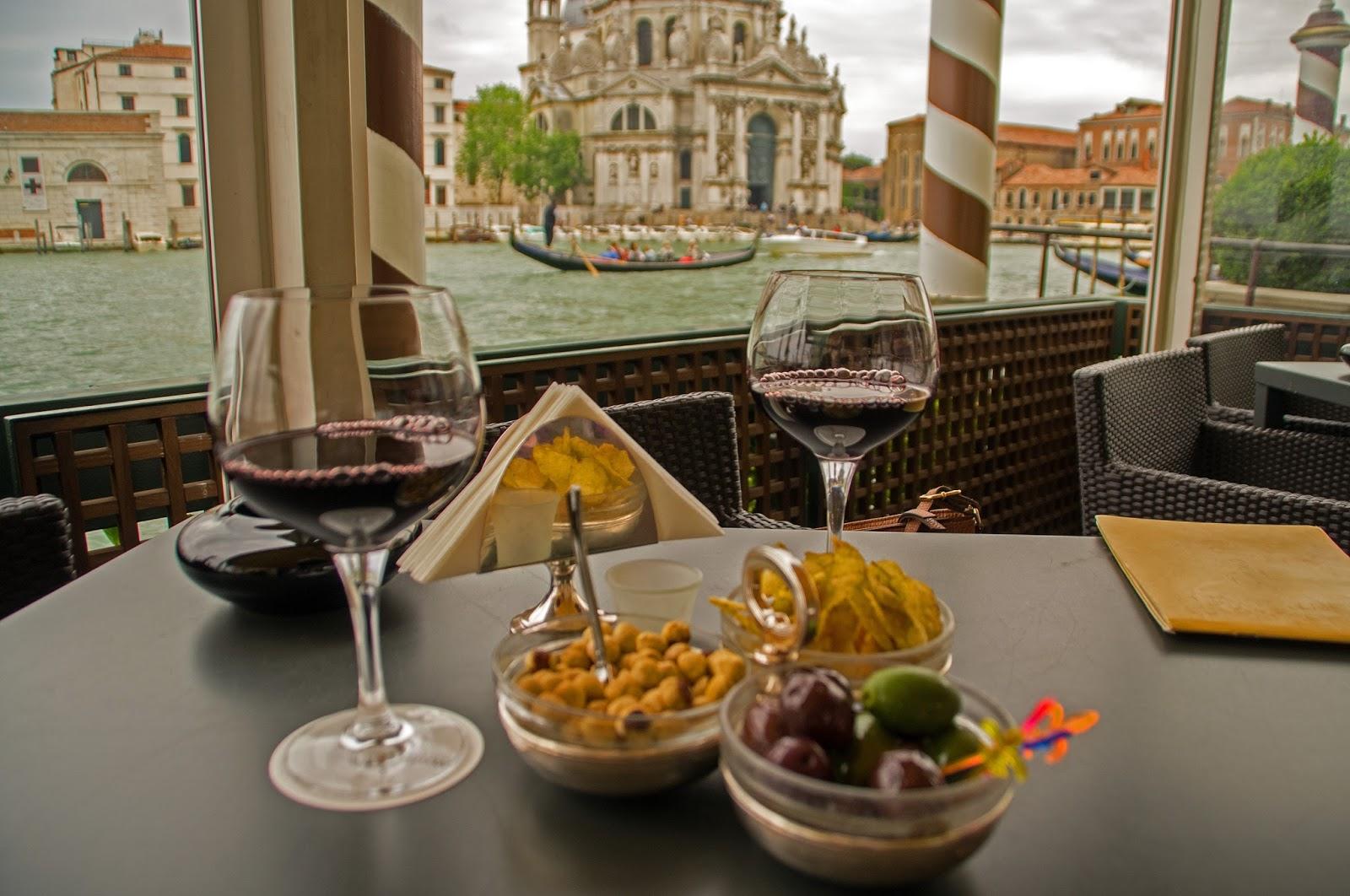 Wine at Westin Europa & Regina Venice