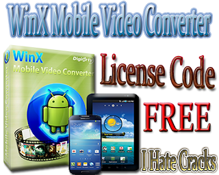 WinX Mobile Video Converter Free Download With Free But Legal License Code