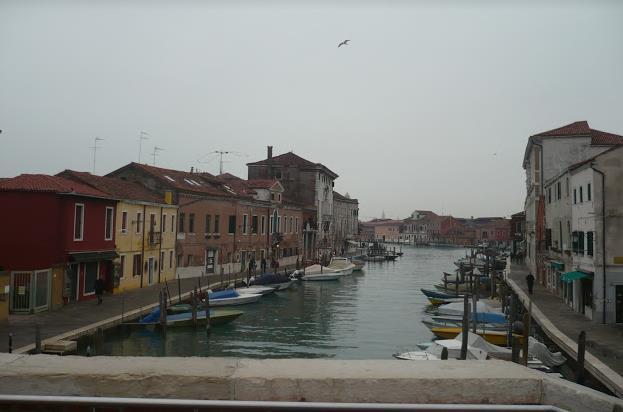 isola di Murano nella laguna di Venezia