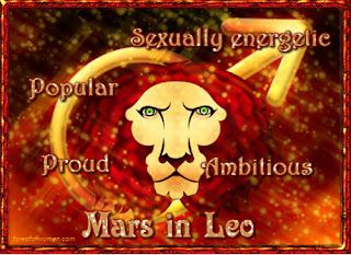 Description of Mars in Leo - Forest for Women