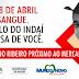 Hemoba estará em Mundo Novo no dia 28 de abril