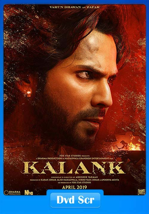 Kalank 2019 Hindi HQ DVDScr x264 | 480p 300MB | 100MB HEVC