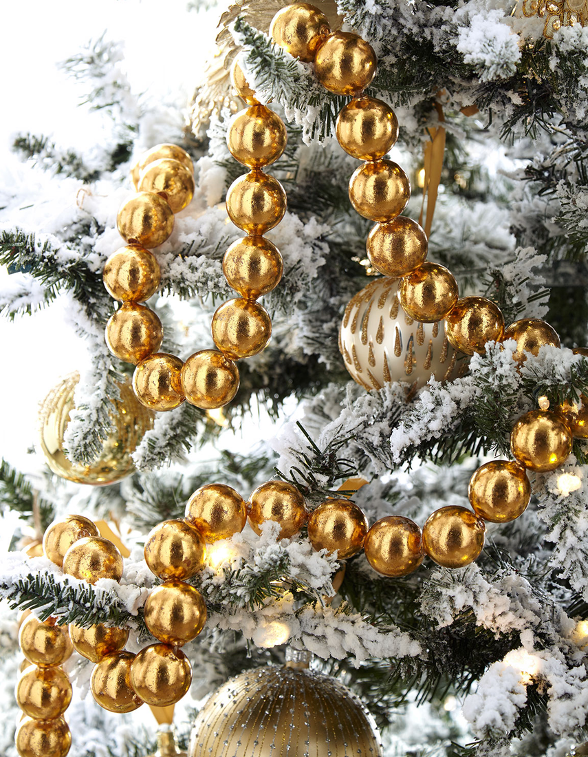 Cody Foster & Co Gold Ball Garland