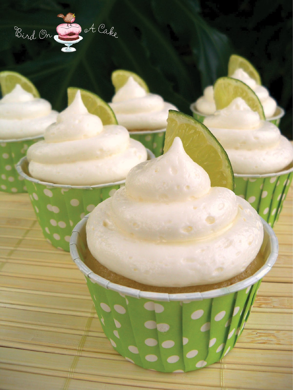 Bird On A Cake: Coconut Lime Cupcakes