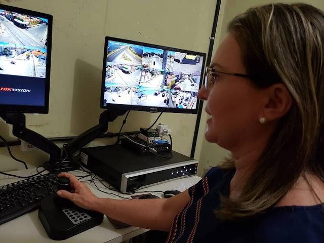 Resultado de imagem para Areia Branca já conta com Sistema de Videomonitoramento