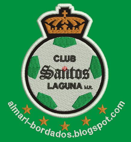 MATRIZ BORDADO SANTOS LAGUNA MEXICO