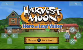 Game Psp (USA) Iso Harvest Moon Hero of Leaf Valley