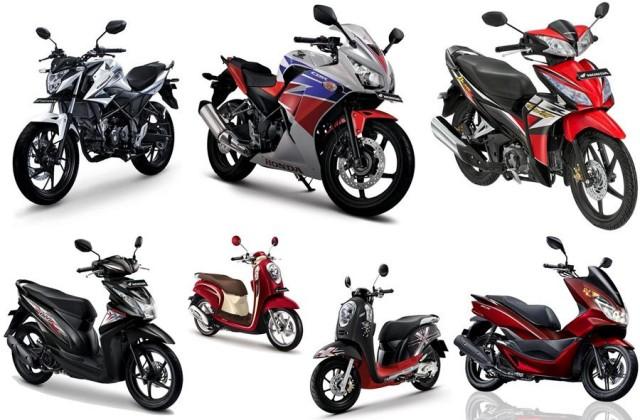 Daftar Harga Motor Honda Terbaru Tahun 2017