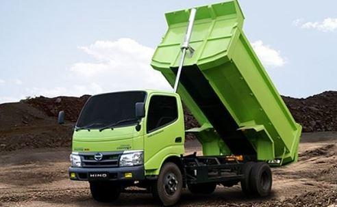 dump truck timbunan biasa