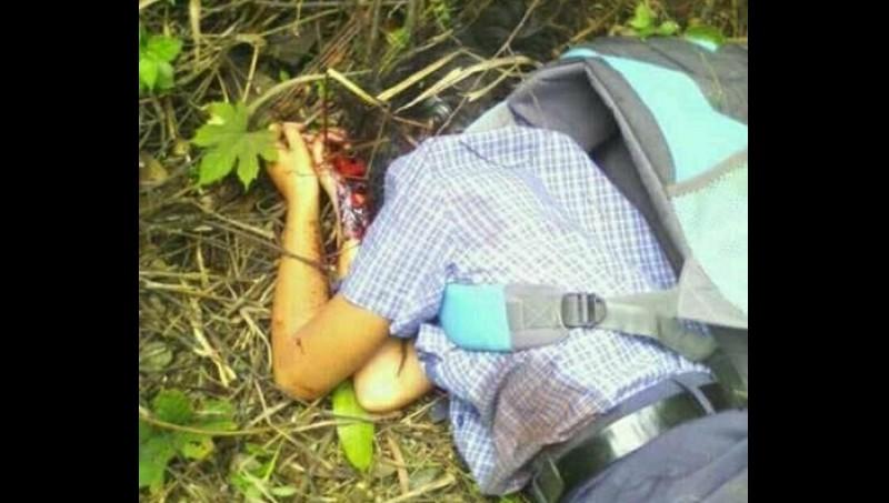 Sandra Yolanda Duha, siswi SMP yang ditemukan tewas di Medan