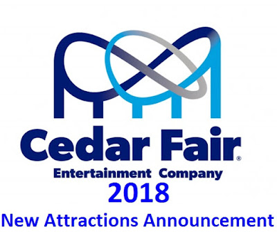 cedar fair new attractions rides 2018