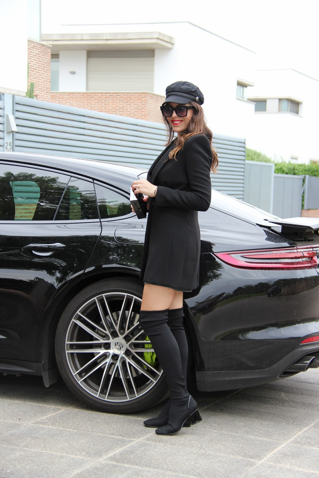 the porche girl