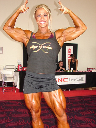 Female Body Building Pictures