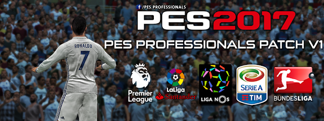 PES 2017 Professionals Patch V1 AIO