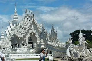 Templo Blanco de Chiang Rai o Wat Rong Khun.