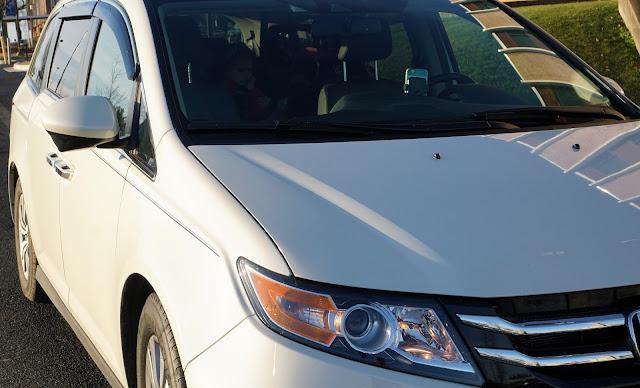Honda Minivan Odyssey recall 2017