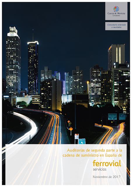 Contrato con Ferrovial Servicios por el que realizará una serie de auditorías de segunda parte a varios de sus proveedores más importantes en España.