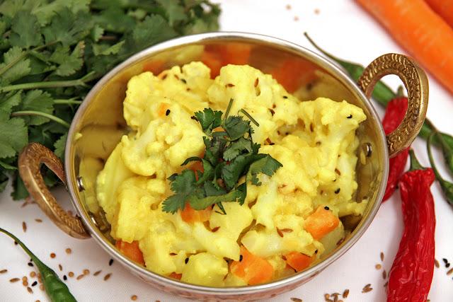Warzywne curry