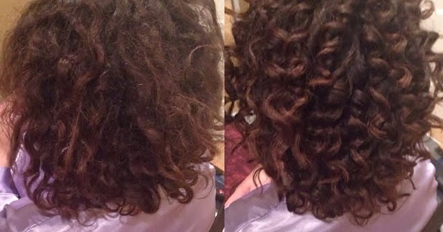 Curly hair transformations #Ideas