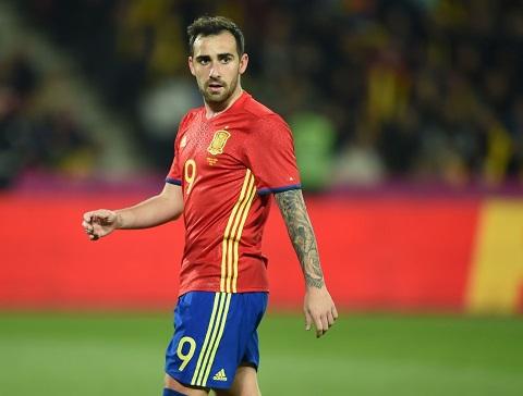 Paco Alcacer đang là tiền đạo đáng xem nhất của giải đấu Liga.