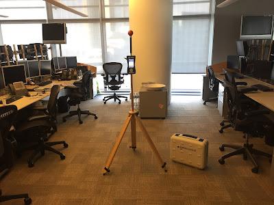 Ofislerde elektromanyetik radyasyon ölçümü