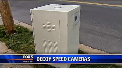 fake decoy speed cameras
