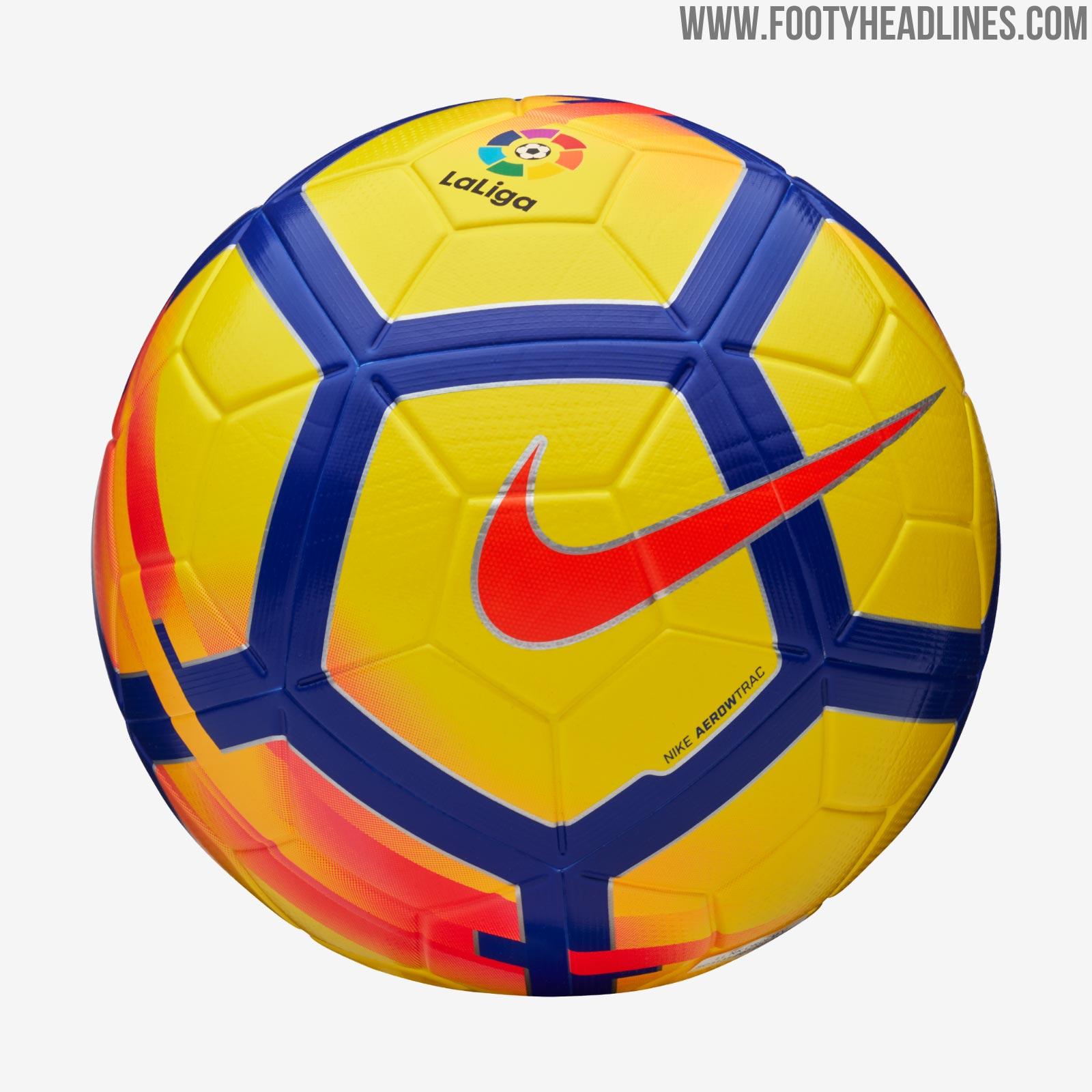 Nike La Liga 17-18 Winter Ball Leaked - Footy Headlines