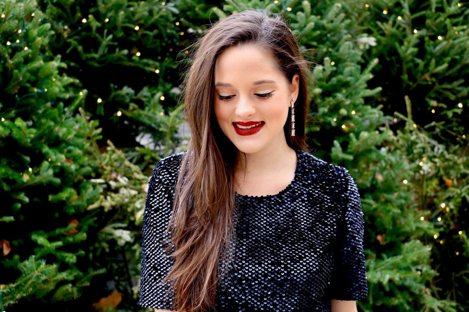 holiday makeup beauty blogger pics