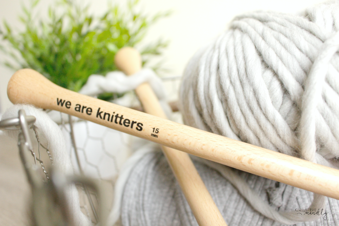 tejer cuello lana facil we are knitters