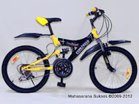 Sepeda Gunung Evergreen Ranger Full Suspension 20 Inci