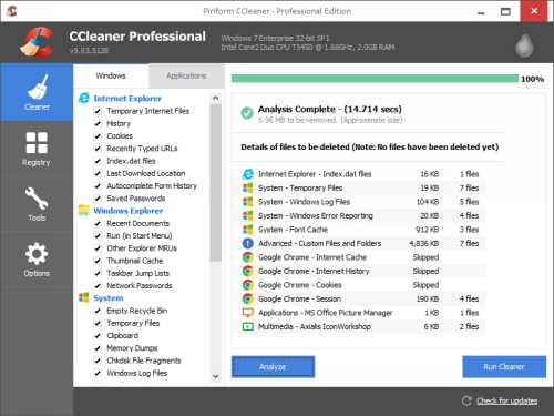 CCleaner 5.04.5151 Pro Full Download