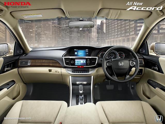 Interior All New Honda Accord