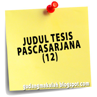 JUDUL TESIS PASCASARJANA (12)