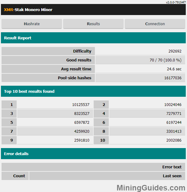 CastXMR vs XMR-STAK ~ Vega MiningGuides com