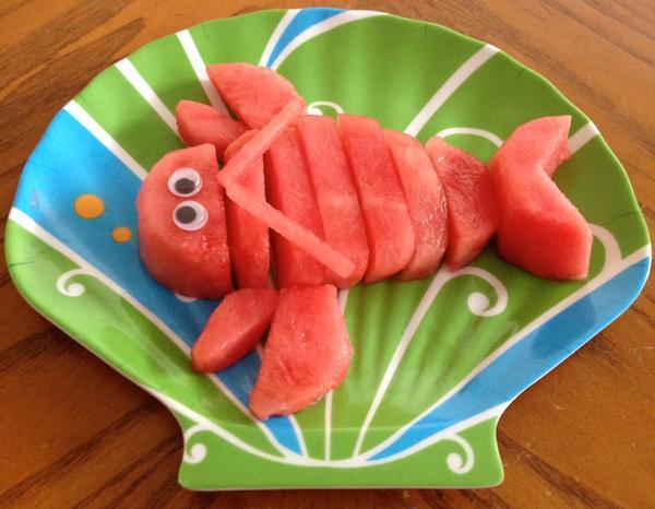 frugt til børn