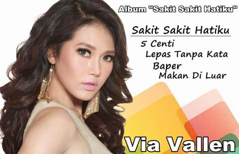 Download Album Via Vallen terbaru Sakit Sakit Hatiku