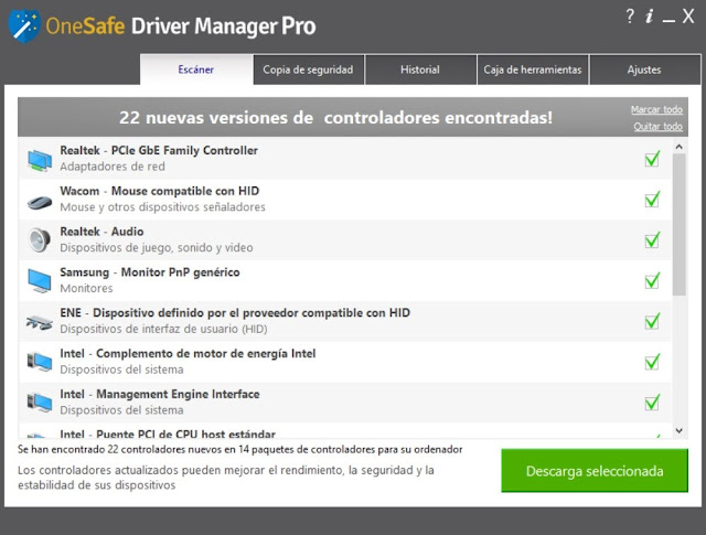 OneSafe Driver Manager Pro Full