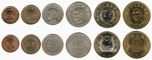 The Monetary System Of Republic China Taiwan Is Decimal Based With Primary Unit Chinese Money Being Called Yuan