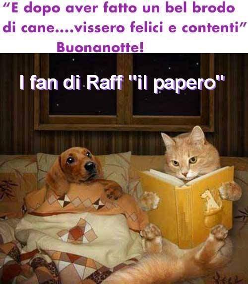 ஜ I Fan Di Raff Il Papero ஜ Per Stasera Siamo Fortunati