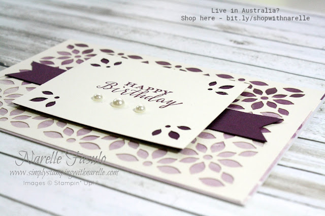 Gorgeous cards made quick and easy with the wonderful Delightfully Detailed Product Suite. See the full range here - https://www3.stampinup.com/ECWeb/products/31003/delightfully-detailed?dbwsdemoid=4008228